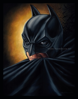 Batman, prints available: 4x6, 8x12, 11x17