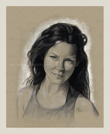 Evangeline Lily, prints available 8 x10