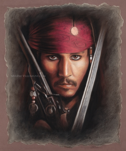 Jack Sparrow brown, prints available 8 x 10