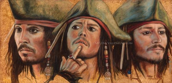 3 Jack Sparrow, prints available 5 x 10