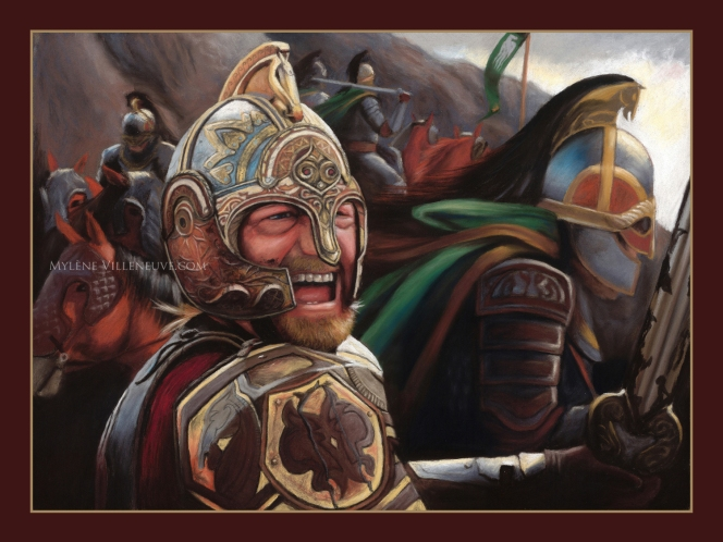 King Theoden, prints available: 8 x 10, 11x17