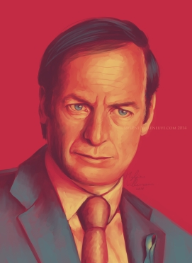 Saul Goodman, prints available 8 x 10
