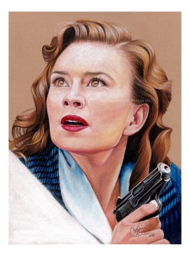 Peggy Carter, prints available: 4x6