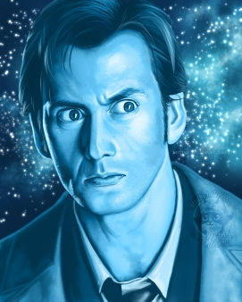 Doctor Who, prints available 8 x 12
