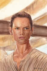 Rey, prints available: 8x12