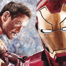IronMan, prints available: 4x6, 8x12, 11x17