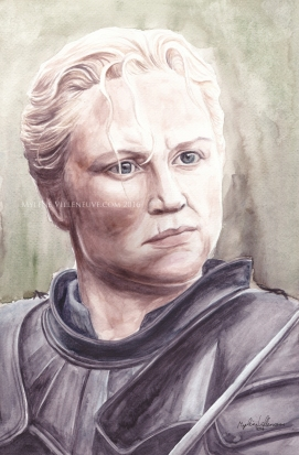 Gwendoline Christie\Brienne, Game of Thrones