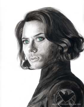 Black Widow, prints available: 4x6